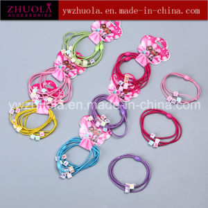 Beautiful Elastic Hair Ties for Kids pictures & photos