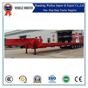 Heavy Duty Lowbed Semi Trailer From China Factory pictures & photos
