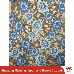 High Quality Guipure Lace with Shinning Stones pictures & photos