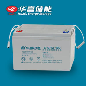 12V100ah Maintenance-Free Lead-Acid UPS Battery pictures & photos