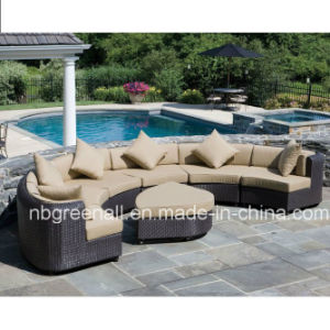 Resin Patio Sofa Set Rattan Wicker Resort Hotel Furniture pictures & photos