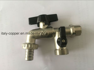 OEM Brass Forged Nickel Plated Bibcock (AV2036) pictures & photos