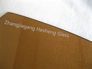 5mm Thick Light Brown Tempered Glass pictures & photos