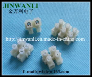 10A 2 Way Plastic Terminal Block Connector pictures & photos