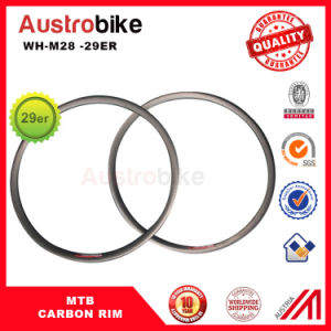 30mm Wide MTB Rim Carbon Fiber 3k/Ud Carbon MTB 29 Carbon Rim pictures & photos