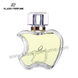 75ml Apple Shape Perfume Glass Bottle for Woman