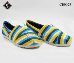 Canvas Shoes for Leisure Shoes Walking Shoes pictures & photos