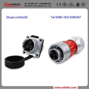 Cnlinko Metal Connector 3pin Quick Connector/3 Pole Wire Terminal Connector pictures & photos
