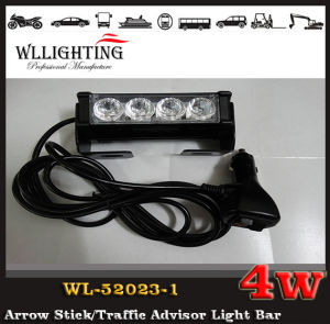 4W Red White LED Warning Stick Light pictures & photos
