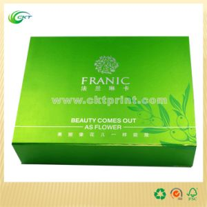 Environment Paper Packaging Box, Cosmetis Paper Box (CKT-CB-757)
