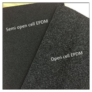 Semi Open Cell/Open Cell EPDM Foam Roll for Automotive pictures & photos
