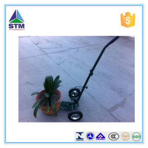 Metal Decorative Flower Cart/Flower Pot Mover/Outdoor Flower Trolley Tc4506 pictures & photos