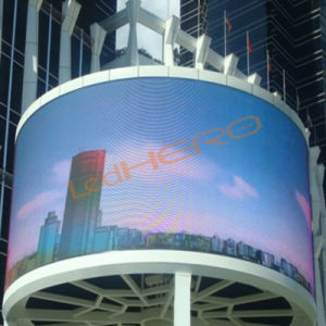 P10 Flexible LED Display/Soft LED Display/Cylinder LED Display pictures & photos