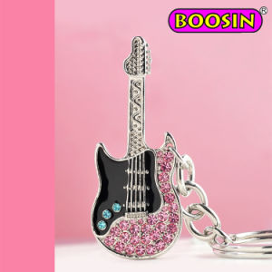 Cool Ox Horn Guitar Charms / Ton Rhinestones Guitar Pendant pictures & photos