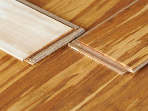 Tiger Engineered Bamboo Flooring HDF Core pictures & photos