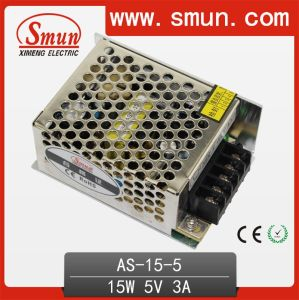 Switching Power Supply 15W Small Volume 5V3a/12V1.3A/24V0.7A pictures & photos