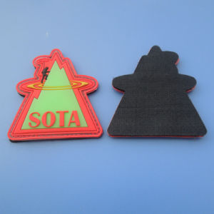 Customized 3D Patch Glow in The Dark pictures & photos