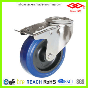 200mm Bolt Hole Locking Castor Wheel (G104-23D200X50S) pictures & photos