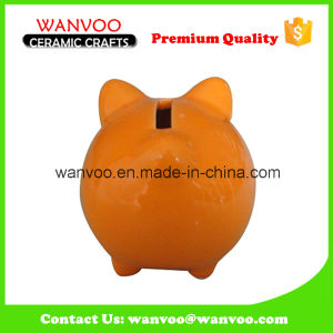 New Designed Ceramic Coin Counting Piggy Bank pictures & photos