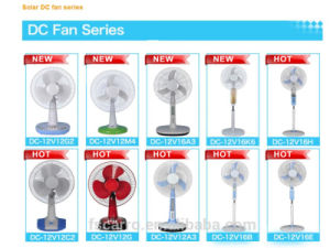 Hot Selling DC Solar Fan with High Speed pictures & photos