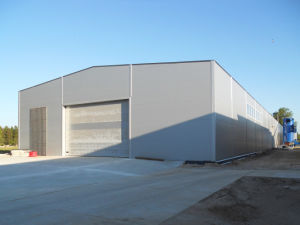 Prefabricated Light Steel Structure Utility Steel Garage (KXD-pH44) pictures & photos