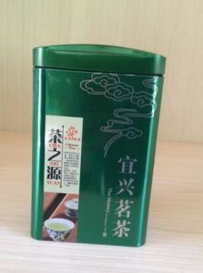 Hot Sale Square Tin Jar for Tea Packaging pictures & photos