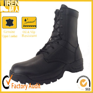 China Black Best Quality New design Military Tactical Combat Boot