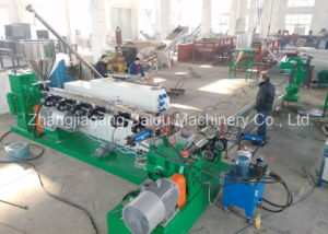 PE PP Double Stage Standed Pelletizing Line pictures & photos