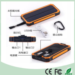 Wholesale 20000mAh Waterproof Mobile Phone Solar Power Charger (SC-3688-A) pictures & photos