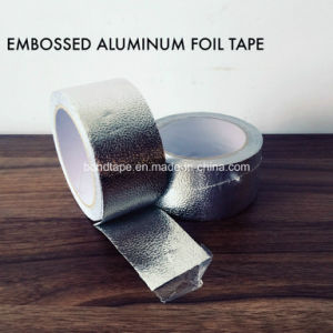 High Quality Embossed Aluminum Foil Tape with Solvent Acrylic Adhesive pictures & photos
