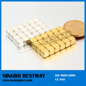 High Quanlity Cornered Neodymium Block Magnet pictures & photos