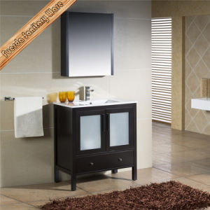 Fed-1186 Integrated Cupc Ceramic Wash Basin Free Standing Cheap Bathroom Vanities pictures & photos