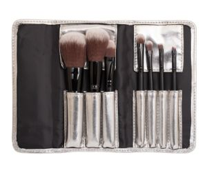 Nylon Hair Portable Cosmetic Makeup Brush Set pictures & photos
