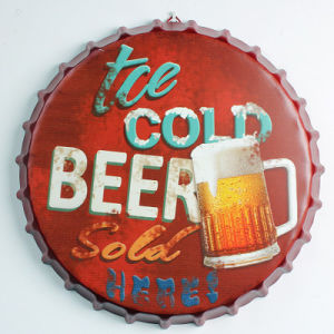 Customized Metal Plates Decorative Tin Signs with Feature pictures & photos
