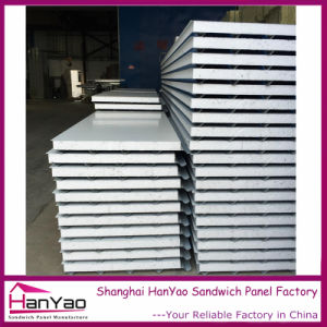 75mm Color Steel Expanded Plystyrene EPS Sandwich Panel for Wall Insulation pictures & photos