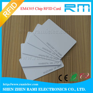125kHz RFID Smart Card Blank White Card for Access Control pictures & photos