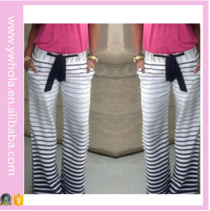 Wholesale Female Ladies Fashion Striped Trousers pictures & photos