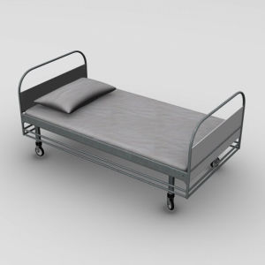 Manual Medical Bed for Stainless Steel (FM-618)