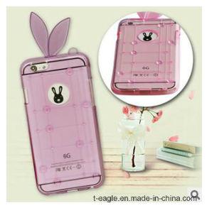 Transparent Crystal Rabbit Phone Case for iPhone 6/6plus pictures & photos