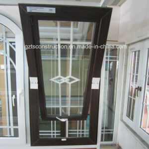 Double Glazing UPVC Middle Hung Window pictures & photos
