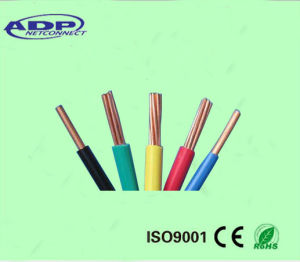Stranded Copper Flexible Wire PVC Insulated Electrical Cable pictures & photos