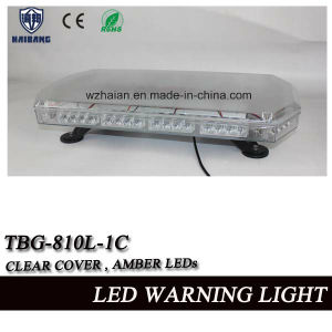 Amber LED Multi Voltage 12/24V Flashing Beacon, Recovery Light Strobe Lightbar with Magnetic pictures & photos