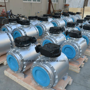 Forged Steel A105 F304 Big Size Flange End Ball Valve