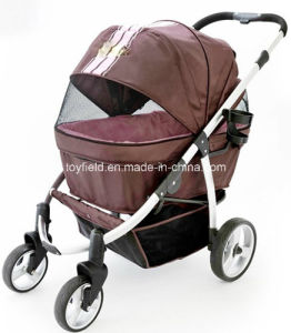 Dog Trolley Car Portable Cart Carrier House Pet Stroller pictures & photos