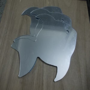 Heart Shape Cutting Plastic Mirror Board PMMA Sheet pictures & photos