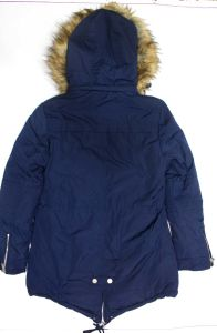 Ladies Winter Padding Jacket / Coat with Detachble Fur Hood pictures & photos