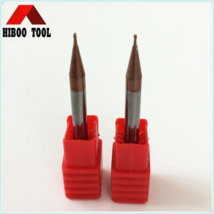 HRC55 Copper Coating 0.3mm Micro End Mills pictures & photos