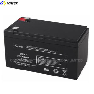 12V7ah Sealed Lead Acid Battery Rechargeable Battery for UPS CS12-7D pictures & photos