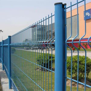 China Exporting PVC Coated 3D Wire Mesh Fencing pictures & photos