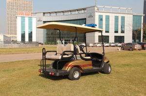 Popular 4 Passengers Golf Trolley with CE Certificate From China pictures & photos